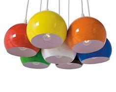 Lámparas de techo con focos