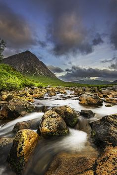 Buachaille Etive Mor at first light. by Kevin Ainslie on 500px