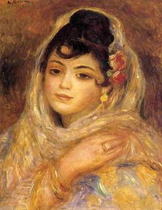 Algerian Woman   -   1881. Пьер Огюст Ренуар