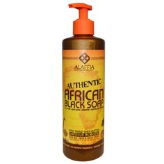 Alaffia, Authentic African Black Soap, Vanilla Almond, 16 fl oz (475 ml)