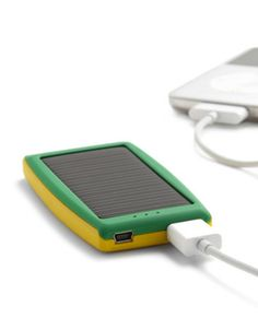 [FOTO] Solar charger for iphone/ipod. #Culturagreen #Ecofriendly