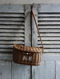 Jute Handbags, Rattan, Fishermans Cottage, Old Wicker, Furniture Quotes, Vintage Baskets, Cottages By The Sea, Basket Bag, Finding Joy