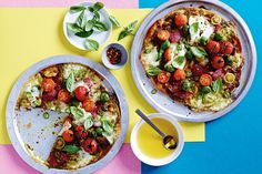 Forget takeaway! These simple pizzas are ready in less than 10 minutes.