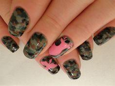 Camo Nails - Nail Art Gallery