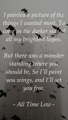 Paint You Wings ♥ -All Time Low