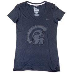 USC Women's Black Stadium Lights T-Shirt by Nike - USC Bookstores