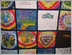 I have been perusing through our old tour shirts to see what can be salvageable for a quilt! Looks like fun!
