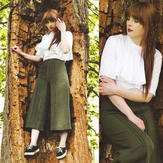 Wioletta M -  - Wool Culotte
