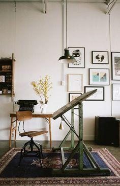 inspiring home office space. / sfgirlbybay
