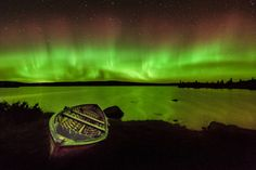 fishing in northern light ...