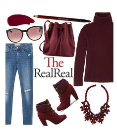 """""""Fall Style With The RealReal: Contest Entry"""" by infinityfashion2 ❤ liked on Polyvore featuring Sophie Hulme, The Row, Ellis Faas, Zara, Ek Thongprasert, Christian Dior and Kevyn Aucoin"""