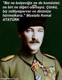 Canim, Tek Cumhurbaskanim! Turkish People, Turkish Army, The Turk, Great Leaders, World Peace, World Leaders, The Republic, Revolutionaries, Deep Thoughts