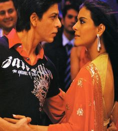 Shah Rukh and Kajol in Om Shanti Om.