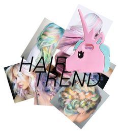 """""""Unicorn hair"""" by alison-52 ❤ liked on Polyvore featuring beauty and Boohoo"""