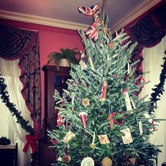 The Christmas Tree is up in Henry House!
