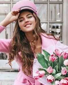 Amazing Women, Beautiful Women, Pink Lingerie, Pink Tulips, Pretty In Pink, Pink Ladies, Cool Style, Lady, Cute