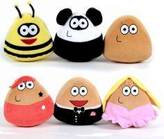 Plush toy assorted Pou - licensed wholesaler