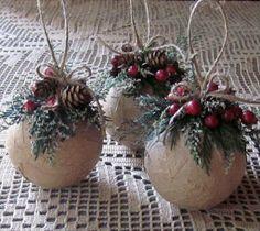 Crea Lindas Decoraciones Navideñas Estilo Rustico, (10 Ideas)