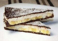 Kokosovo - banánova  torta bez cukru a pečenia  http://tortyodmamy.sme.sk/kokosovo-bananova-torta-bez-cukru-pecenia?ref=tit