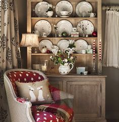 Susie Watson, China Cabinet, Dresser, Glow, Home And Garden, Warm, Decorating, Create, Cottages