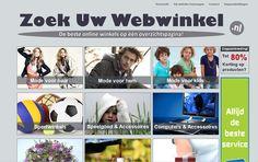 www.zoekuwwebwinkel.nl, Gemaakt door Marc Satijn
