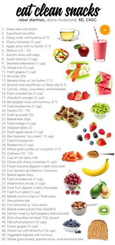 eat clean snacks