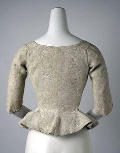 Bodice, 18th century American or European (Metropolitan Museum)