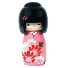 """ Kokeshi"" dolls in japan"