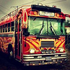 Guatemalan Style School Bus
