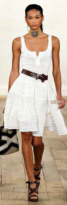 Ralph Lauren Spring Summer 2011 Ready To Wear...love this!!!