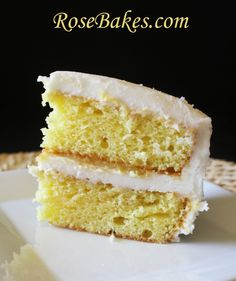 Lemon Icebox Cake with Lemon Curd & Cream Cheese Frosting~love lemon!