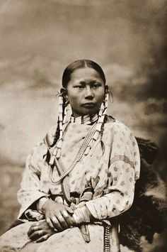 Spotted Fawn, Cheyenne Girl,1878.
