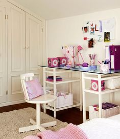 Tables for Kids Study Areas, Organizing Children Bedroom Designs for School Success Modern Kids Bedroom, Modern Kids Furniture, Childrens Bedroom Decor, Kids Bedroom Designs, Modern Bedroom Design, Kids Room Design, Home Office Design, Kids Study, Kid Desk
