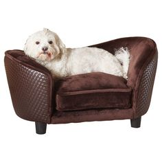 Brown Snuggle Dog Bed #pets #dog #animals #dogs #puppies #chair #bed