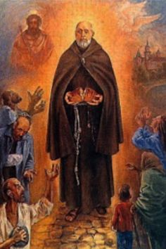 St. Albert of Krakow aka St Albert Chmielowski  1845-1916, Polish religious and founder of the Friars and Sisters of the Third Order of St Francis, Servants of the Poor.
