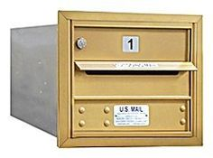 4C Horizontal Mailbox - 3 Door High Unit (13 Inches) - Single Column - 1 MB1 Door - Gold - Rear Loading - USPS Access by Salsbury Industries. $132.73. 4C Horizontal Mailbox - 3 Door High Unit (13 Inches) - Single Column - 1 MB1 Door - Gold - Rear Loading - USPS Access - Salsbury Industries - 820996413918