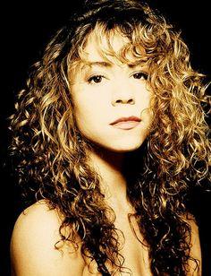 Mariah Carey by Deborah Feingold  1980s