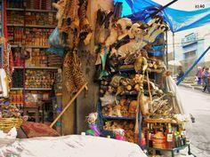 Viajes Erráticos: Mercado de los brujos / La Paz / BOLIVIA