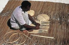 The Maldivian locals don't have a strong artisan identity, but basket weaving is prominent