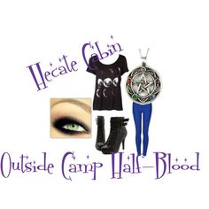 """Hecate Cabin Outside Camp Half-Blood"" by greekfreak-69 on Polyvore"