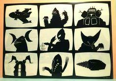 「ウルトラ怪獣 シルエット」の画像検索結果