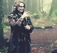Rumple....this is kind of how I react to the show