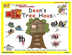 """*THIS ITEM IS CURRENTLY IN THE FREE DOWNLOAD WINDOW!For """"free window"""" email notificationsSubscribe to the Secret Stories Blog!""""Dean's Treehouse"""" is the latest title in the SECRET STORIES Guided Reader Series, designed to provide targeted reinforcement and assessment of common phonemic patterns and sounds (a.k.a."""