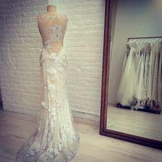свадебное платье с открытой спиной vk.com/honeymoon_hm