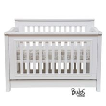 COCOON FLAIR 5 IN 1 COT INCLUDING MATTRESS WHITE