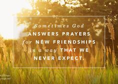 The Unexpected Blessing of Unlikely Friendship - (in)courage