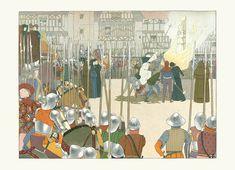 Jeanne D'Arc illustration by Maurice Boutet De Monvel.