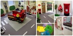 A new concept play centre that encourages role play as learning. A mini size high street for kids to play- hairdressers, cafes, fire station, police station, post office, supermarket shopping. Kids toys and play area Role play
