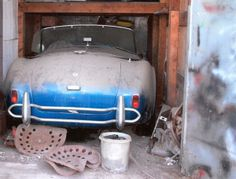 AC Cobra Barn Find