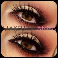 Gorgeous makeup for eyes